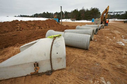 Concrete Pipe Donation Supports Safety Training for Wisconsin heavy equipment operators