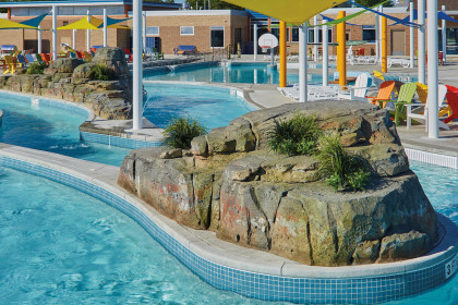 Advantages of County Materials' Concrete Masonry & Ready-mix - Wisconsin Rapids Aquatic Center