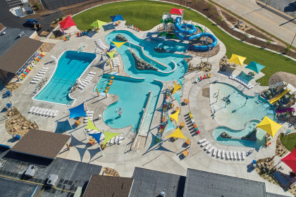 County Materials Provides Variety of Concrete Solutions to Bring Water Park to Life