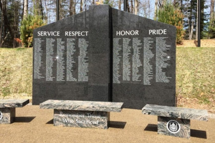 County Materials Donates Ready-Mix Concrete to the Wilderness Veterans Memorial
