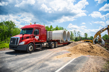 Concrete Pipe Week Case Study: Emergency Culvert Replacement