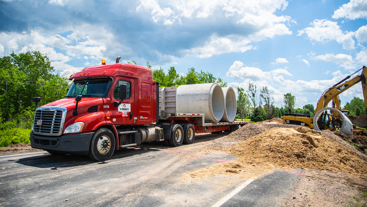 County Materials Offers Sustainable, Long-Lasting Solutions for Wisconsin's Flood Prevention Infrastructure Needs