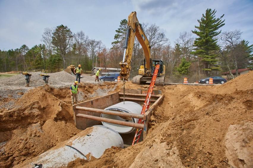 Woodruff US 51 Pipe Project