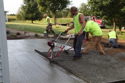 Six Steps to Quality Exterior Concrete