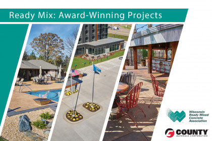 County Materials Congratulates 2018 Ready-Mix Design Award Recipients