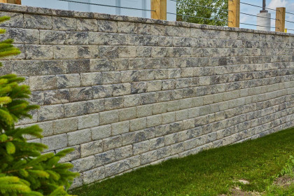 Integrity™ Retaining Wall System Fulfills Structural and Design Requirements of Expansive Retaining Wall Project